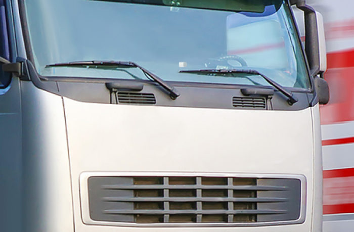 транспондер на грузовике
