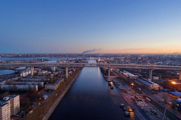 Вантовый мост ЗСД - фото