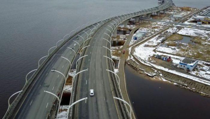 Развязка ЗСД на Новом шоссе фото