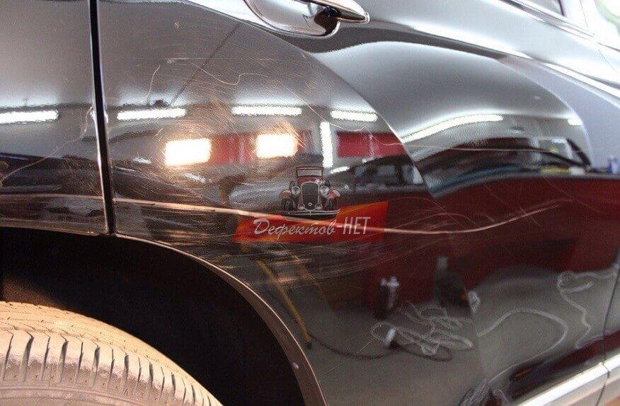 удаление царапин на кузове авто в москве