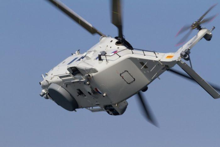 Вертолет над ЗСД фото